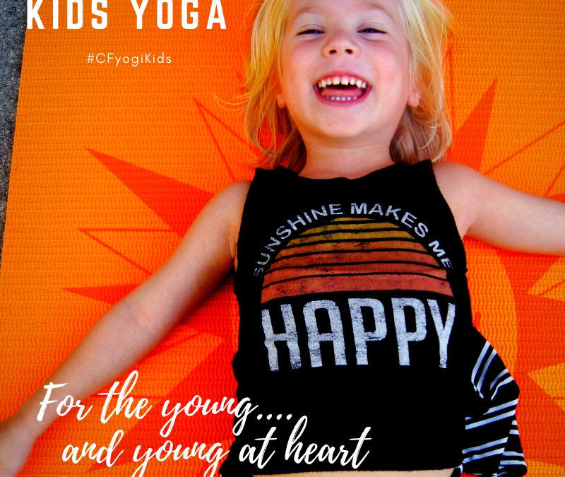 Kids Yoga for CF Families this February